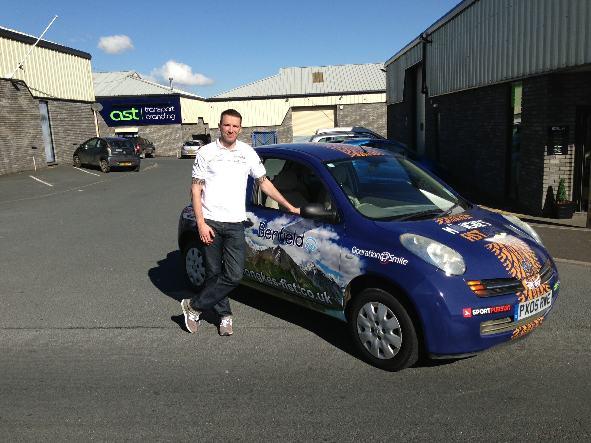 Ashley Crossey - British Formula Ford Racing Driver
