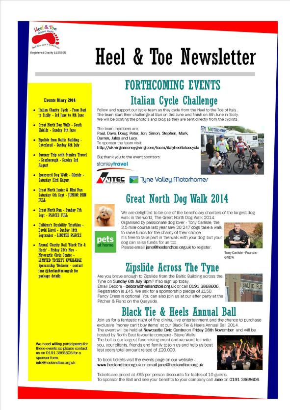 May Newsletter 2014
